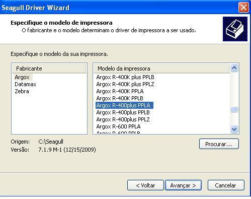 argox r-400k plus pplz Windows 8 Driver